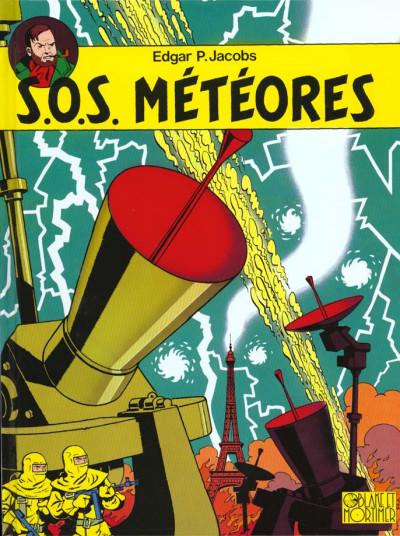 Couverture blake et mortimer tome 8 - s.o.s météores