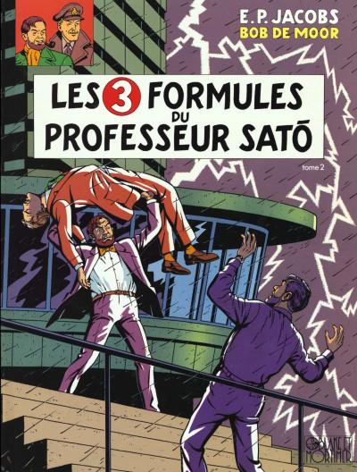Couverture blake et mortimer tome 12 - les trois formules du professeur satô tome 2