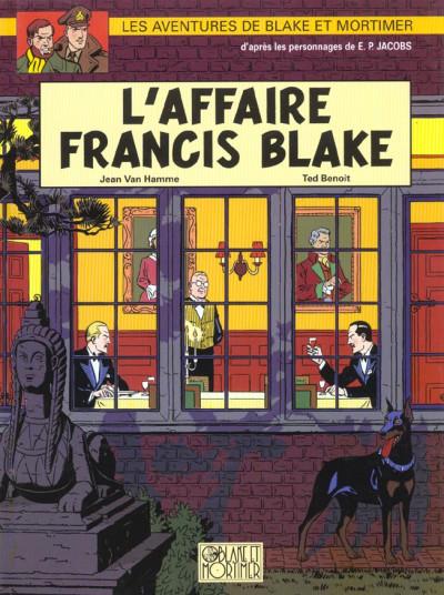 Couverture blake et mortimer tome 13 - l'affaire francis blake