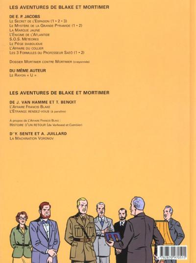 Dos blake et mortimer tome 13 - l'affaire francis blake