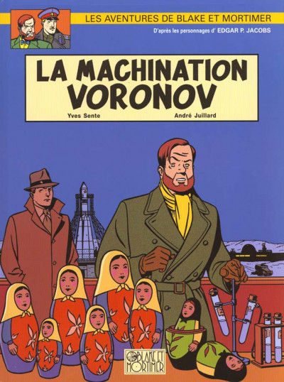 Couverture Blake et Mortimer tome 14 - la machination voronov