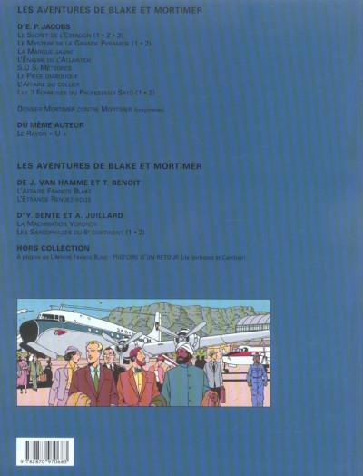 Dos blake et mortimer tome 17 - les sarcophages du 6e continent tome 2