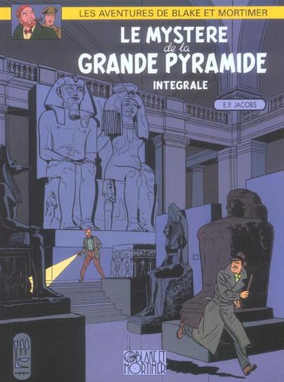 Couverture blake et mortimer - le mystère de la grande pyramide tome 1 et tome 2