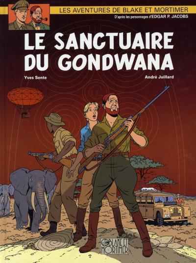 Couverture blake et mortimer tome 18 - le sanctuaire de gondwana