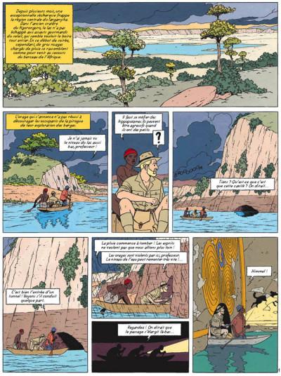 Page 1 blake et mortimer tome 18 - le sanctuaire de gondwana