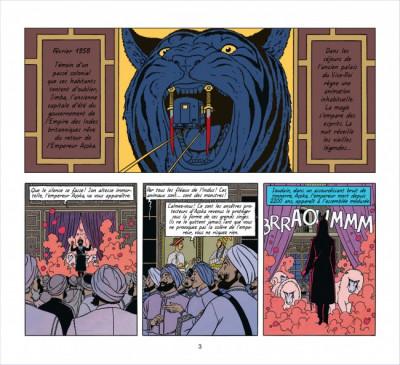 Page 3 Blake et Mortimer ; intégrale ; les sarcophages d'Açoka