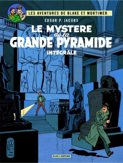 Blake et Mortimer - le mystère de la grande pyramide tome 1 et tome 2