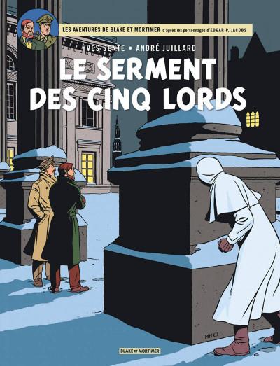 Couverture blake et mortimer tome 21 - le serment des cinq lords