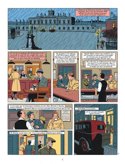 Page 3 blake et mortimer tome 21 - le serment des cinq lords