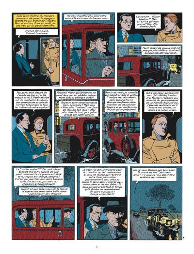 Page 5 blake et mortimer tome 21 - le serment des cinq lords