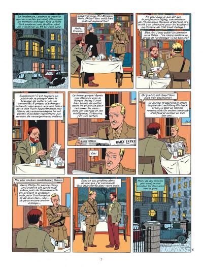 Page 7 blake et mortimer tome 21 - le serment des cinq lords
