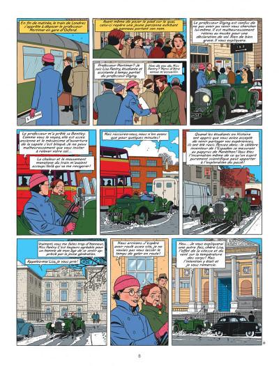 Page 8 blake et mortimer tome 21 - le serment des cinq lords