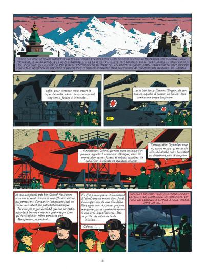 Page 3 Blake et Mortimer tome 1 - le secret de l'espadon - Nouvelle édition