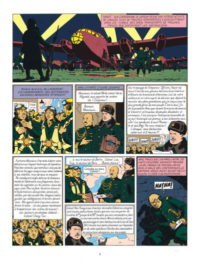 Page 4 Blake et Mortimer tome 1 - le secret de l'espadon - Nouvelle édition