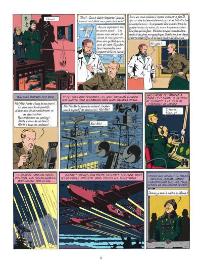 Page 8 Blake et Mortimer tome 1 - le secret de l'espadon - Nouvelle édition
