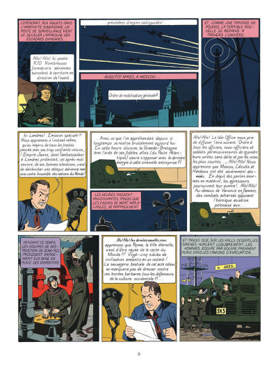 Page 9 Blake et Mortimer tome 1 - le secret de l'espadon - Nouvelle édition