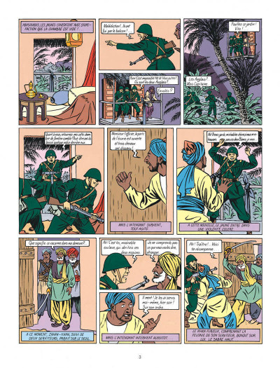 Page 3 Blake et Mortimer tome 2 - le secret de l'espadon tome 2 - Nouvelle édition