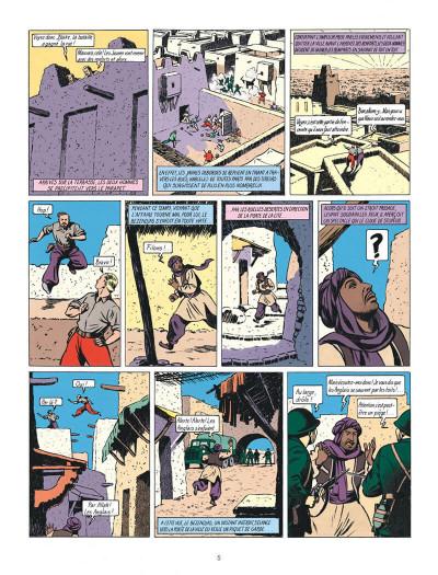 Page 5 Blake et Mortimer tome 2 - le secret de l'espadon tome 2 - Nouvelle édition