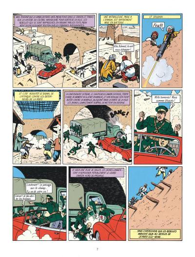 Page 7 Blake et Mortimer tome 2 - le secret de l'espadon tome 2 - Nouvelle édition