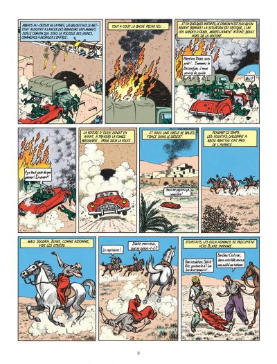 Page 9 Blake et Mortimer tome 2 - le secret de l'espadon tome 2 - Nouvelle édition