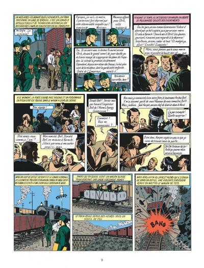 Page 9 Blake et Mortimer tome 3 - le secret de l'espadon tome 3 - Nouvelle édition