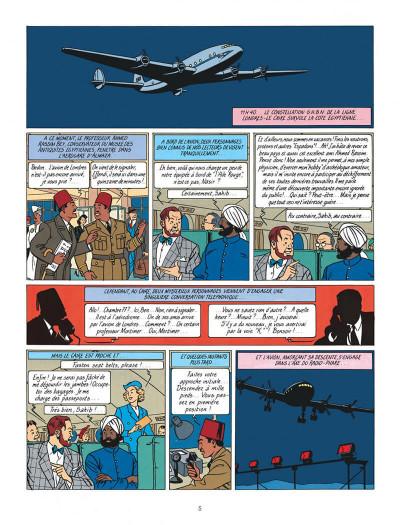 Page 5 Blake et Mortimer tome 4 - le mystère de la grande pyramide tome 1 - Nouvelle édition