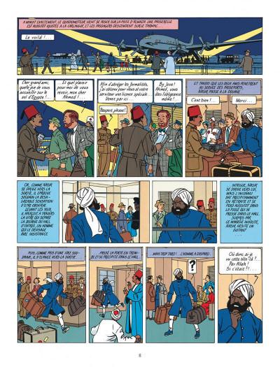 Page 6 Blake et Mortimer tome 4 - le mystère de la grande pyramide tome 1 - Nouvelle édition
