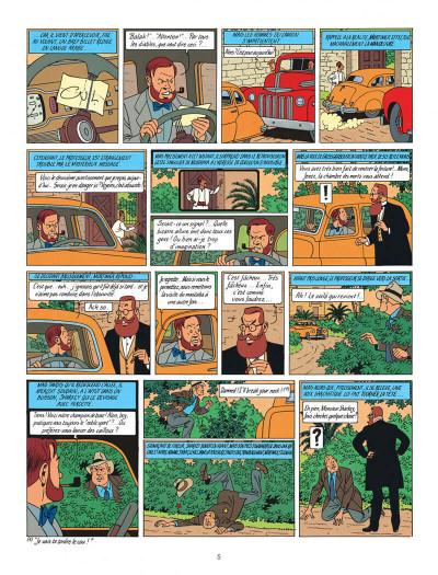 Page 5 Blake et Mortimer tome 5 - le mystère de la grande pyramide tome 2 - Nouvelle édition