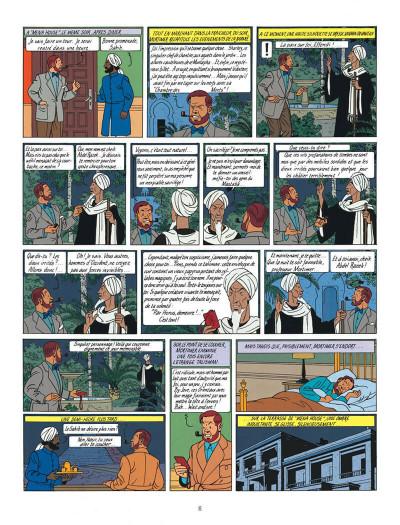 Page 6 Blake et Mortimer tome 5 - le mystère de la grande pyramide tome 2 - Nouvelle édition