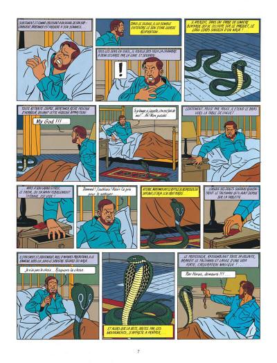 Page 7 Blake et Mortimer tome 5 - le mystère de la grande pyramide tome 2 - Nouvelle édition