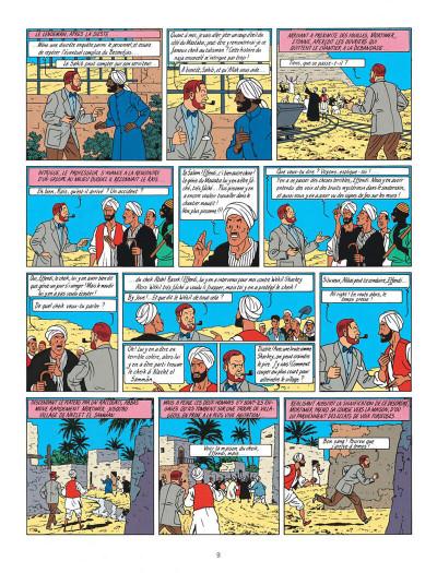 Page 9 Blake et Mortimer tome 5 - le mystère de la grande pyramide tome 2 - Nouvelle édition