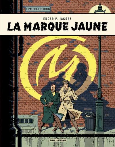 Couverture Blake et Mortimer tome 6 - la marque jaune - Nouvelle édition