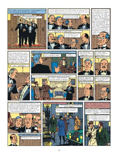 Page 0 Blake et Mortimer tome 6 - la marque jaune - Nouvelle édition