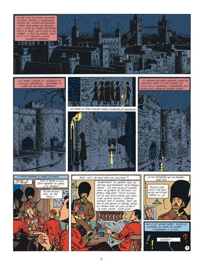 Page 5 Blake et Mortimer tome 6 - la marque jaune - Nouvelle édition