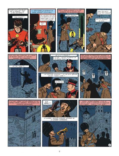 Page 6 Blake et Mortimer tome 6 - la marque jaune - Nouvelle édition