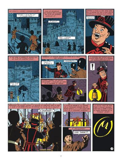 Page 7 Blake et Mortimer tome 6 - la marque jaune - Nouvelle édition