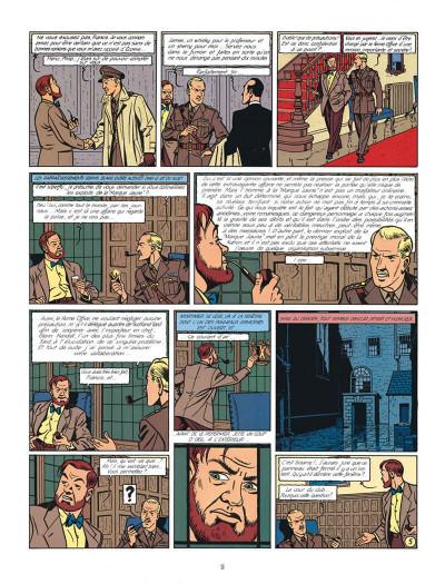 Page 9 Blake et Mortimer tome 6 - la marque jaune - Nouvelle édition