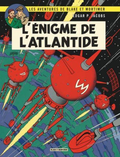 Couverture Blake et Mortimer tome 7 - l'énigme de l'Atlantide - Nouvelle édition