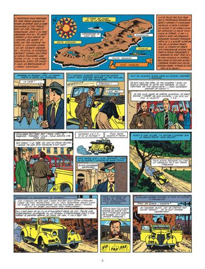 Page 3 Blake et Mortimer tome 7 - l'énigme de l'Atlantide - Nouvelle édition