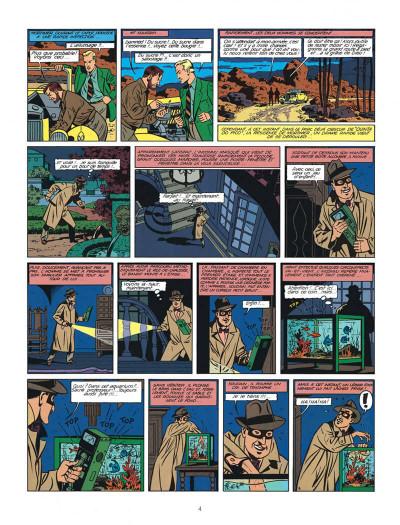 Page 4 Blake et Mortimer tome 7 - l'énigme de l'Atlantide - Nouvelle édition