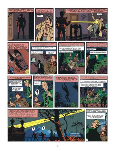 Page 5 Blake et Mortimer tome 7 - l'énigme de l'Atlantide - Nouvelle édition