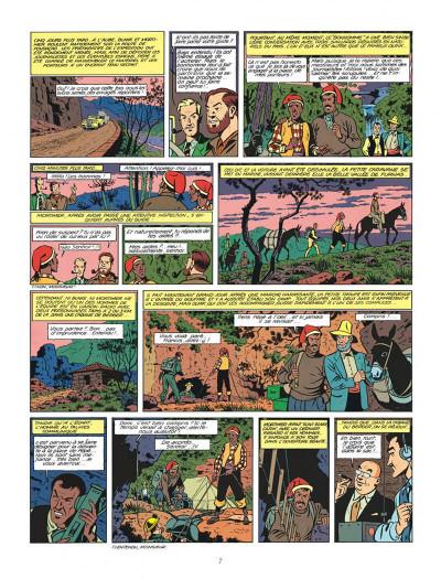 Page 7 Blake et Mortimer tome 7 - l'énigme de l'Atlantide - Nouvelle édition