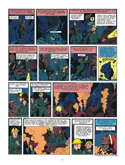 Page 8 Blake et Mortimer tome 7 - l'énigme de l'Atlantide - Nouvelle édition