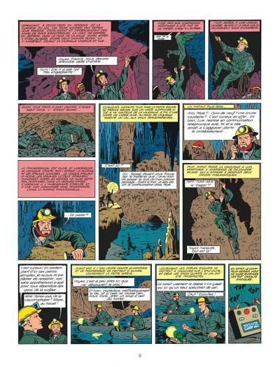 Page 9 Blake et Mortimer tome 7 - l'énigme de l'Atlantide - Nouvelle édition