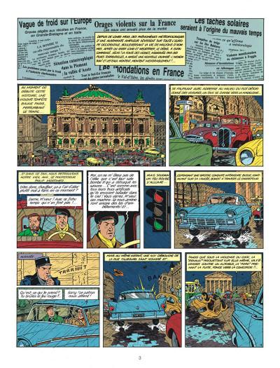 Page 3 Blake et Mortimer tome 8 - S.O.S. météores - Nouvelle édition