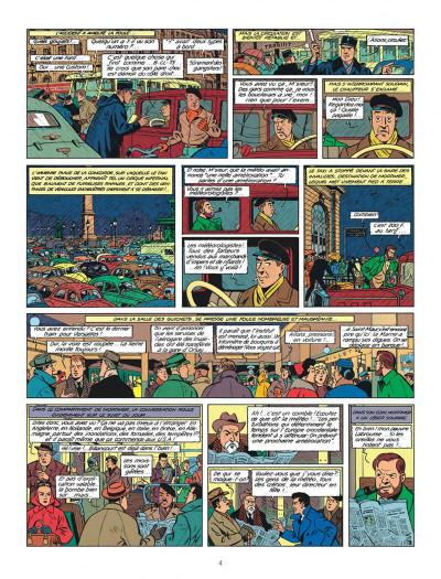 Page 4 Blake et Mortimer tome 8 - S.O.S. météores - Nouvelle édition