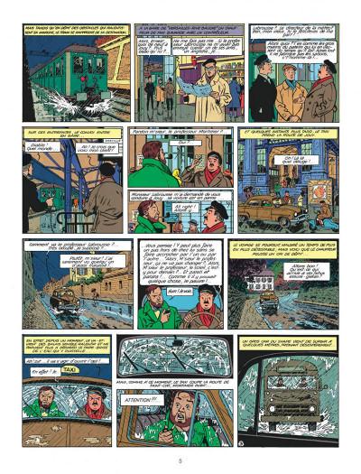 Page 5 Blake et Mortimer tome 8 - S.O.S. météores - Nouvelle édition