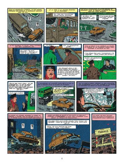 Page 6 Blake et Mortimer tome 8 - S.O.S. météores - Nouvelle édition