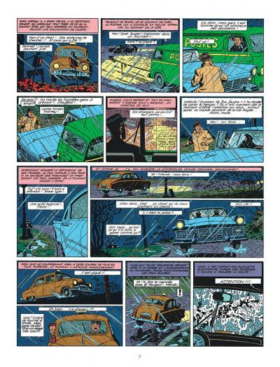Page 7 Blake et Mortimer tome 8 - S.O.S. météores - Nouvelle édition