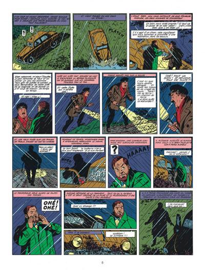 Page 8 Blake et Mortimer tome 8 - S.O.S. météores - Nouvelle édition